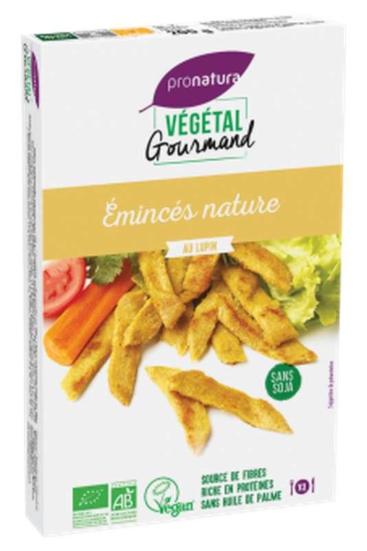 Emincés nature au lupin BIO, Végétal Gourmand (200 g)
