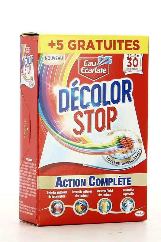 Décolor Stop action complète (25 + 5 lingettes)