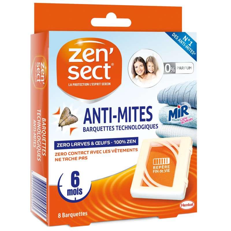 Anti-mites barquettes technologiques, Zen'Sect (x 8)