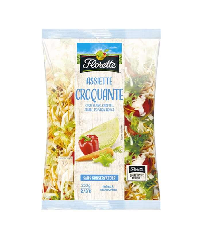 Salade L'Assiette Croquante, Florette (250 g)