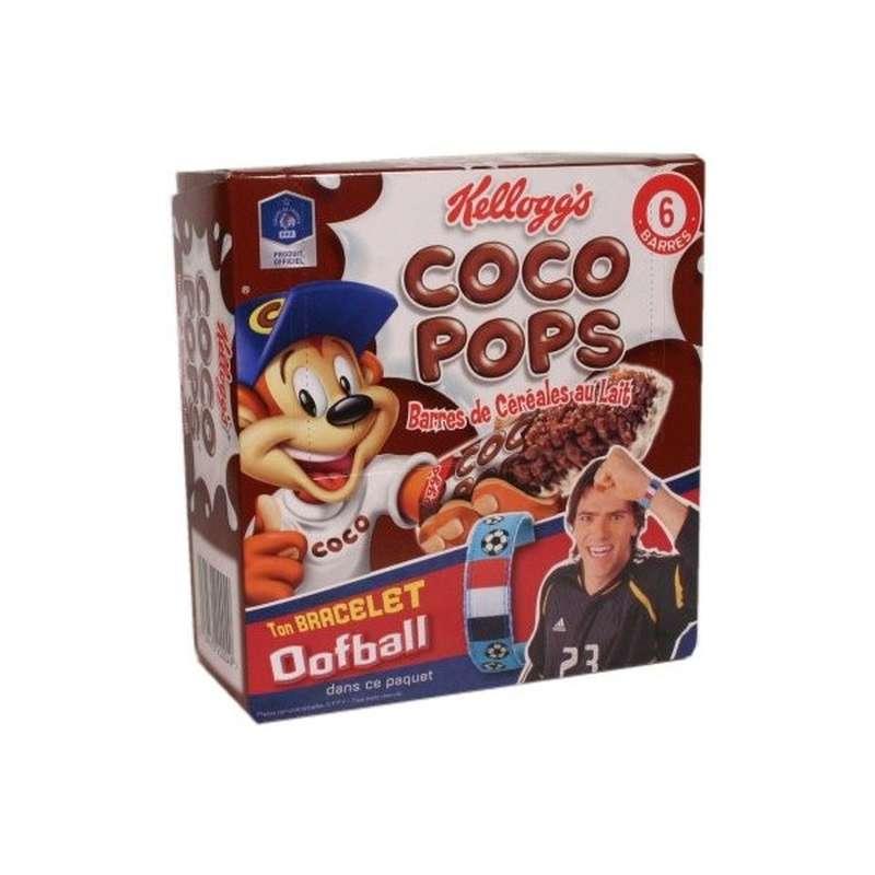 Barres Coco Pops, Kellogg's (6 barres, 120 g)