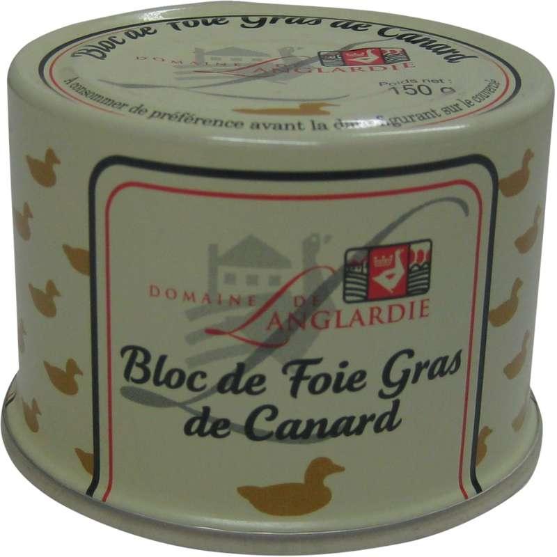 Bloc de foie gras de canard, Domaine de Langlardie (150 g)