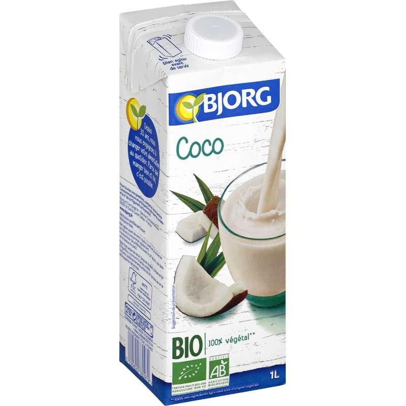 Boisson au lait de coco BIO, Bjorg (1 L)