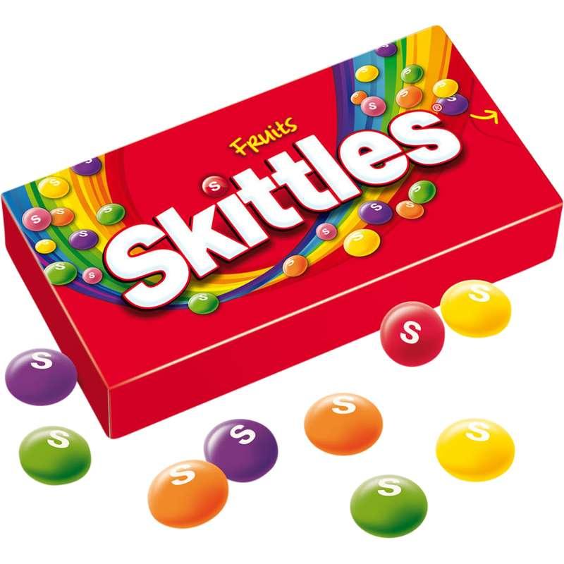 "Bonbons acidulés aux fruits Skittles "" Fruits "" (45 g)"