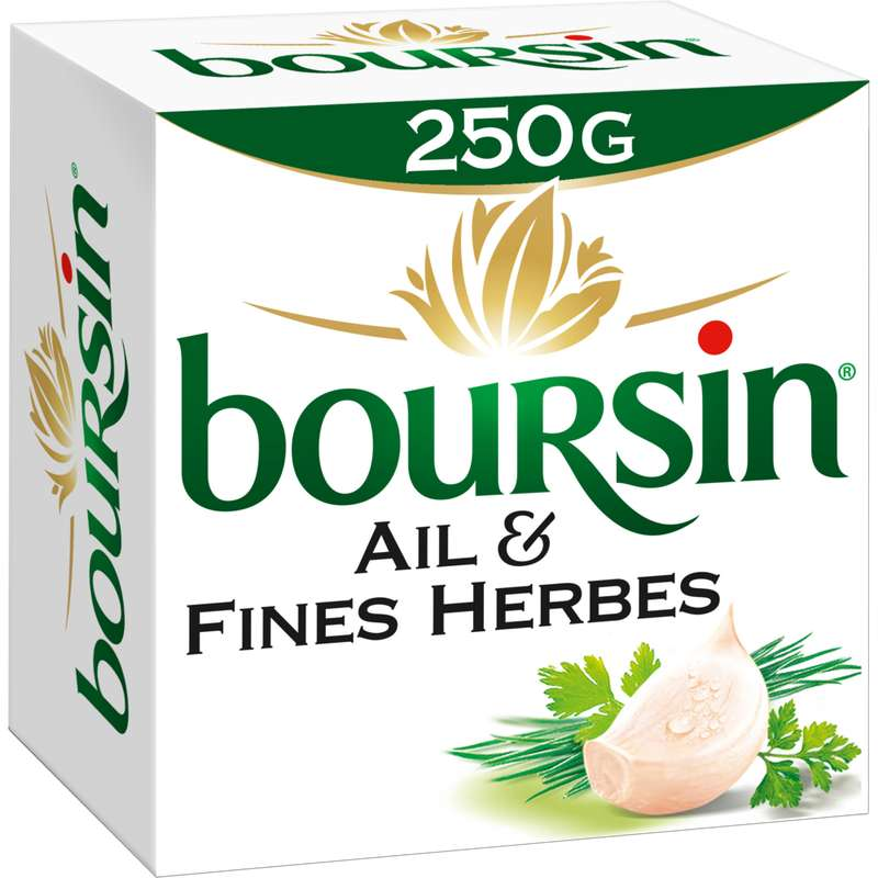 Boursin Ail & Fines Herbes (250 g)