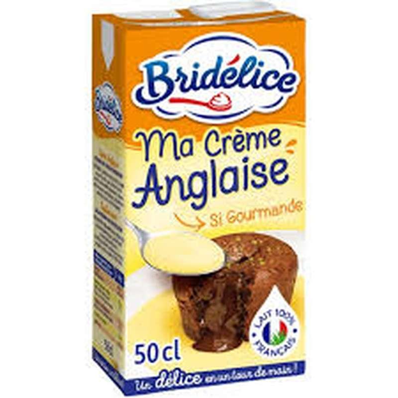 Crème anglaise, Bridélice (50 cl)