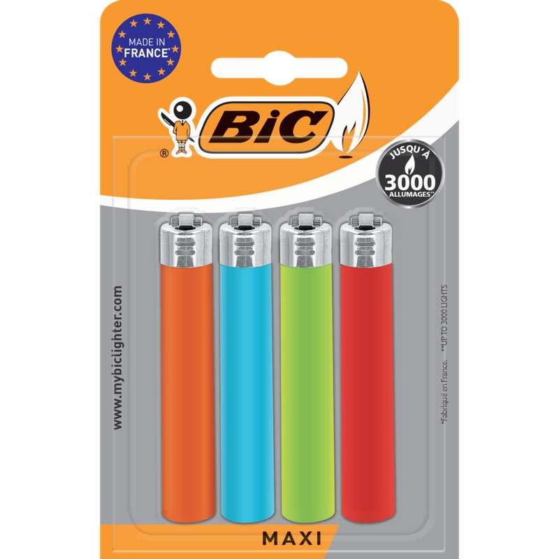Briquets maxi standard, Bic (x 4)