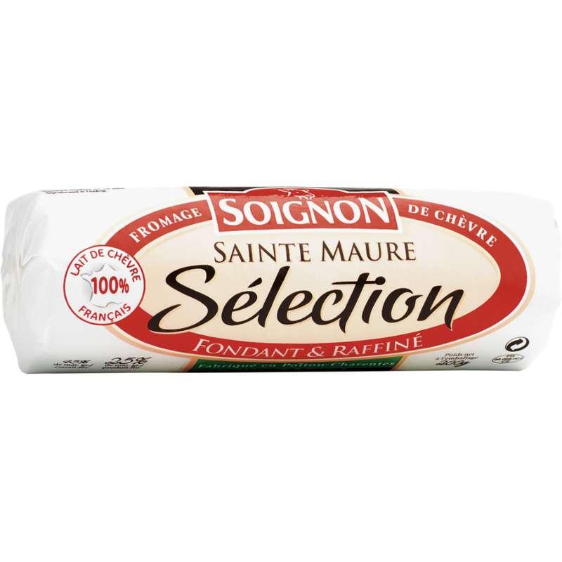 Bûche de chèvre Sainte Maure Sélection, Soignon (200 g)
