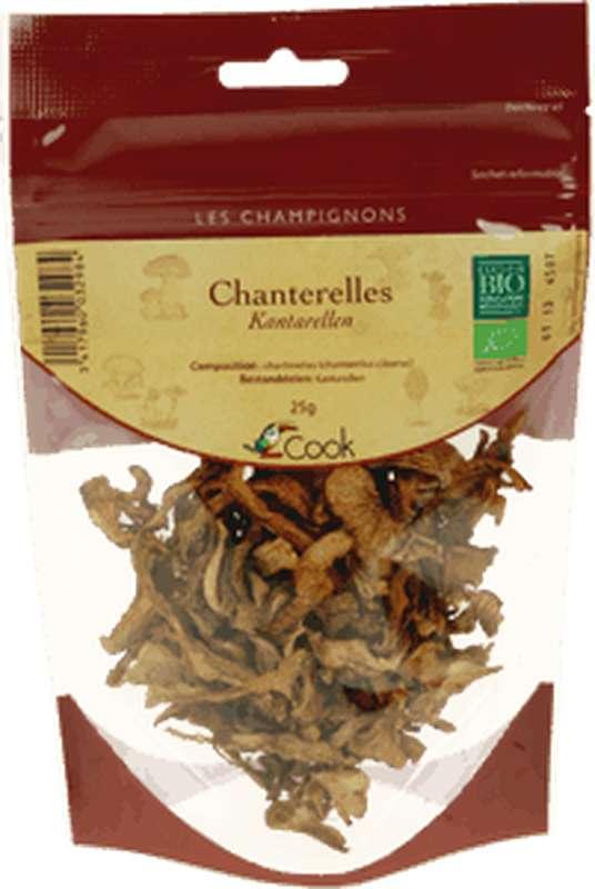 Chanterelles séchées BIO, Cook (25 g)