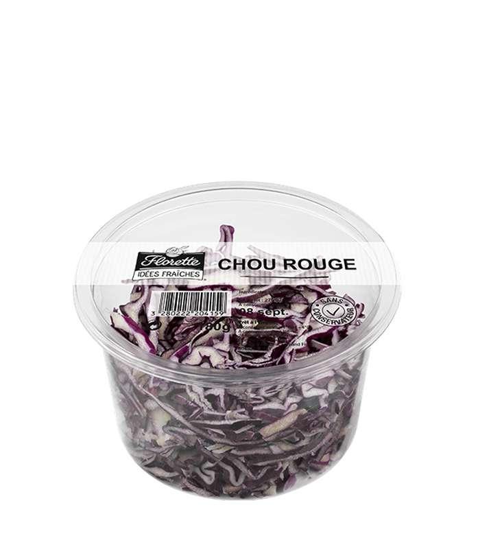 Chou rouge en barquette, Florette (180 g)