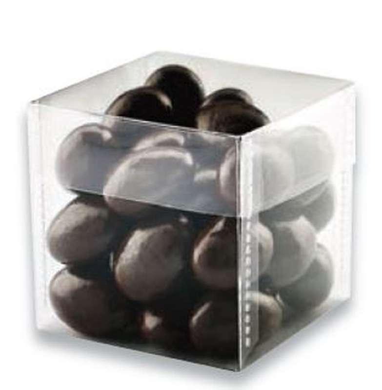 Cube Amandes au chocolat, Schaal Chocolatier  (150 g)