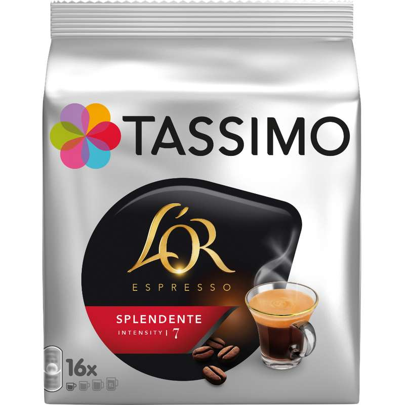 Café Splendente n°7, L'Or Tassimo (x 16)