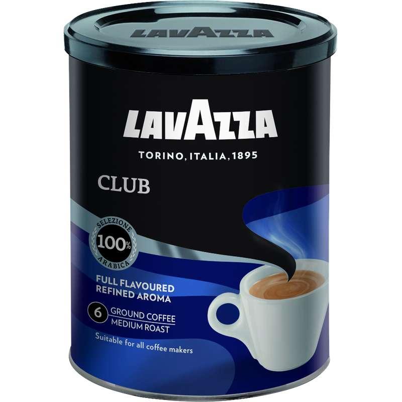 Café moulu arabica Club, Lavazza (250 g)