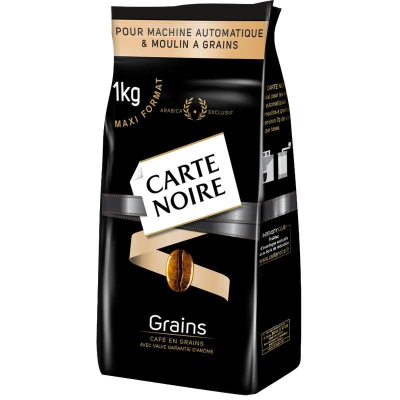 Café en grain, Carte Noire (1 kg)