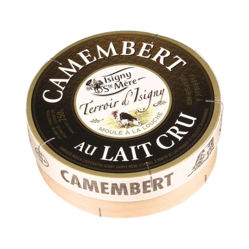 Camembert au lait cru, Isigny Ste Mère (250 g)