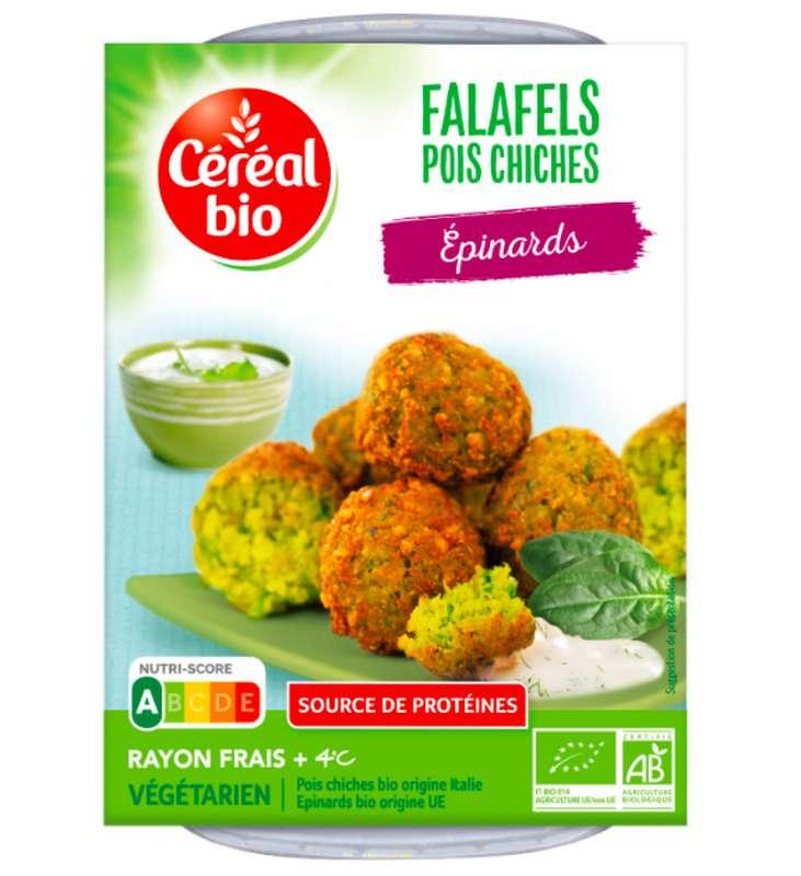 Falafels pois chiches et épinards BIO, Céréales Bio (180 g)