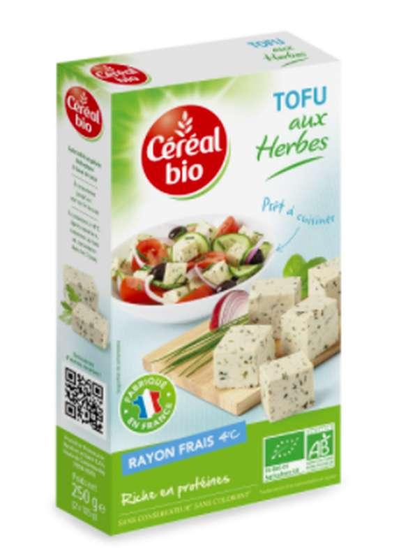 Tofu aux herbes BIO, Céréal Bio (250 g)