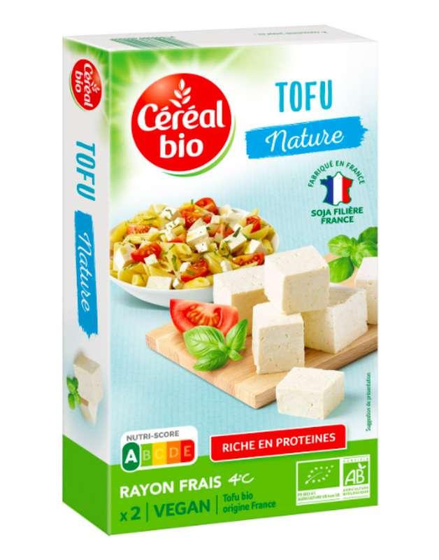 Tofu nature BIO, Céréal Bio (2 x 125 g)
