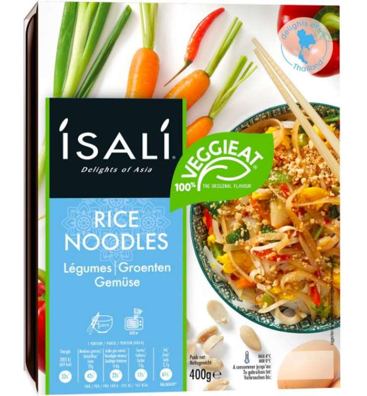 Nouilles de riz aux légumes, Isali (400 g)