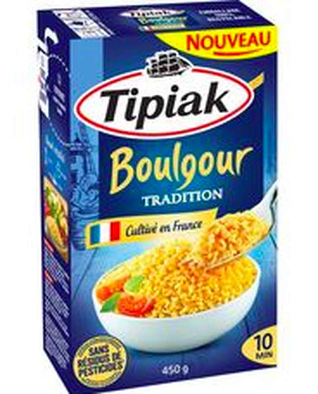 Boulgour tradition, Tipiak (450 g)