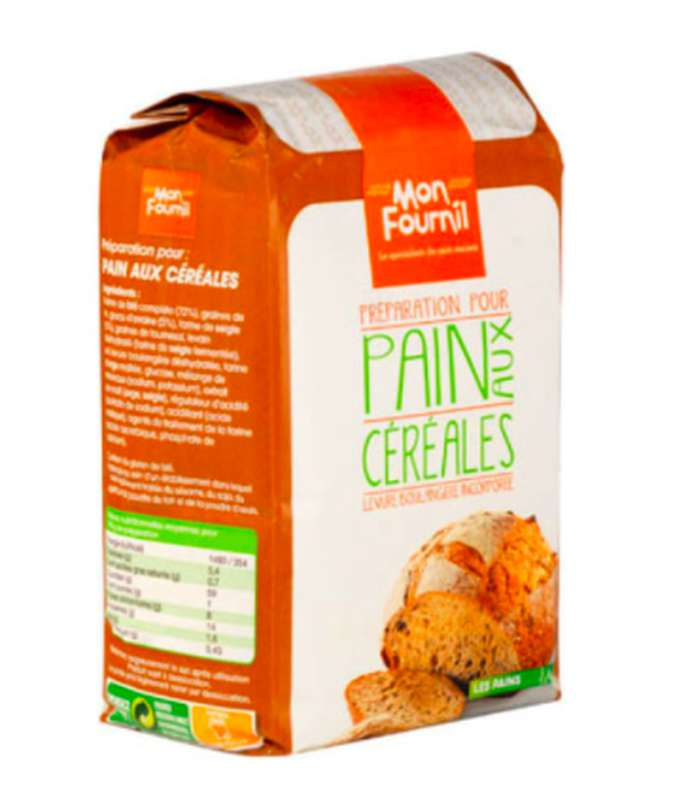 Farine pour pain aux céréales, Mon Fournil (1 kg)