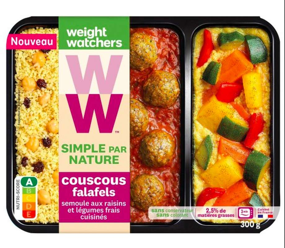Couscous Falafels, Weight Watchers (300 g)