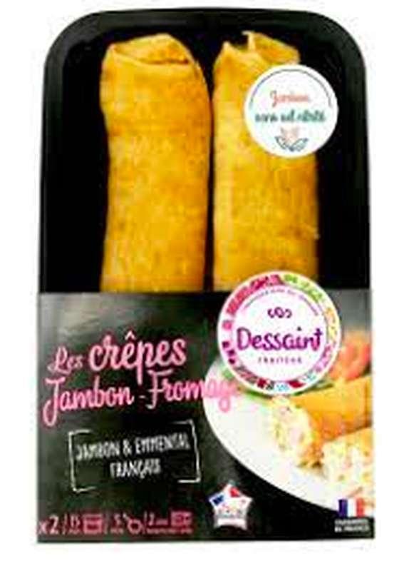 Crêpe Jambon Fromage, Dessaint (x 2)