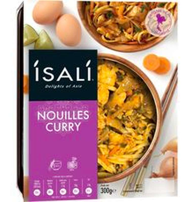 Nouilles au curry, Isali 300 g)