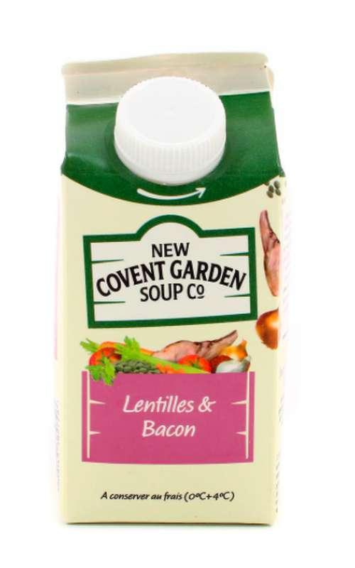 Soupe fraîche Lentilles & Bacon, New Covent Garden Soup (600 g)