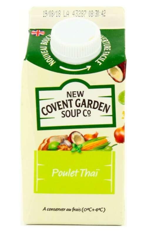 Soupe fraîche Poulet Thaï, New Covent Garden Soup (600 g)