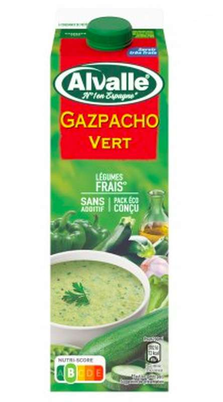 Gazpacho vert, Alvalle (1 L)