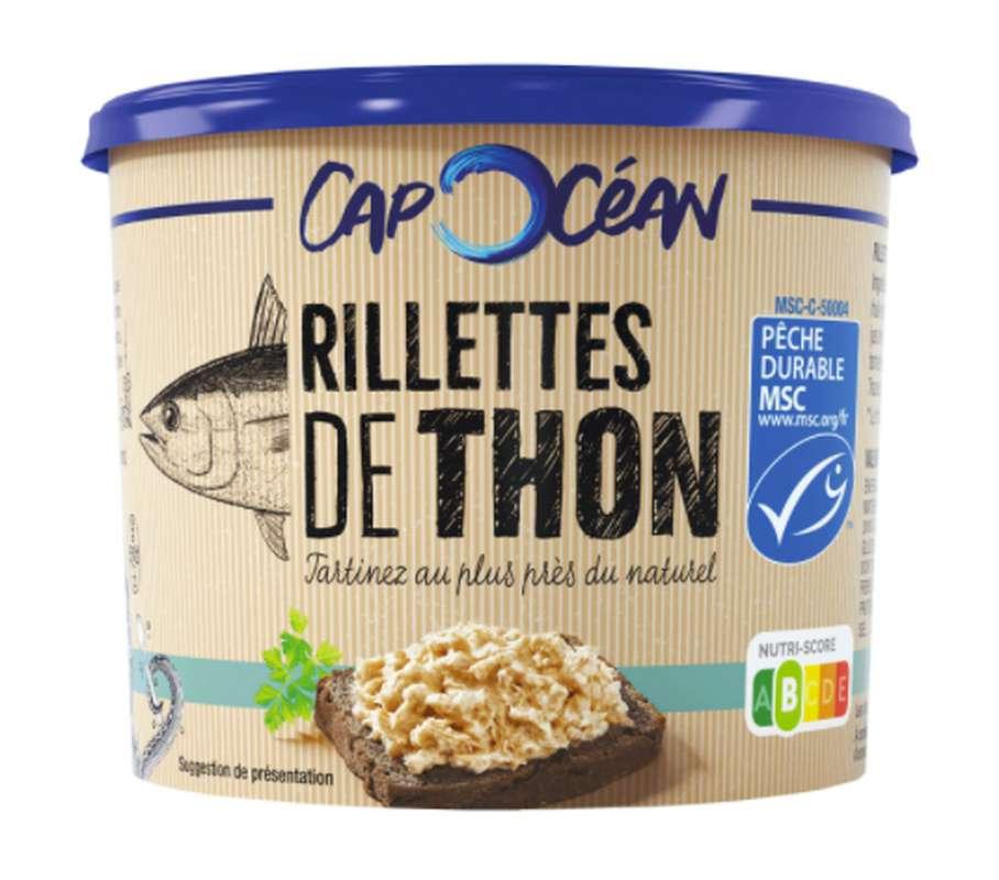 Rillettes de thon, Cap Océan (150 g)
