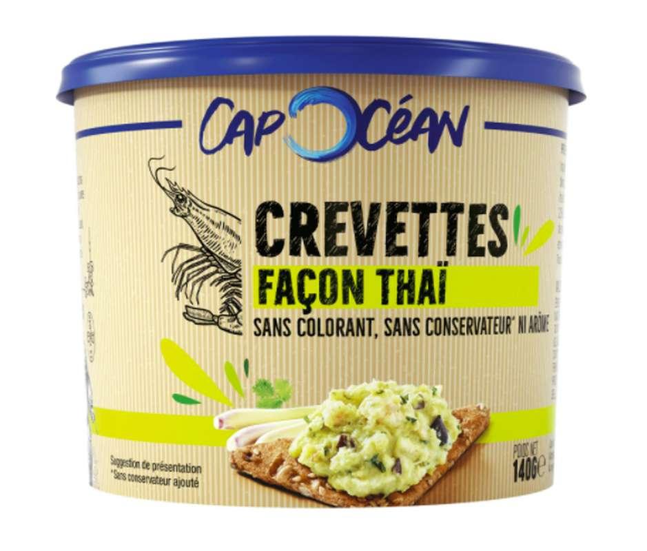 Tartinable de crevettes façon thaï, Cap Océan (140 g)