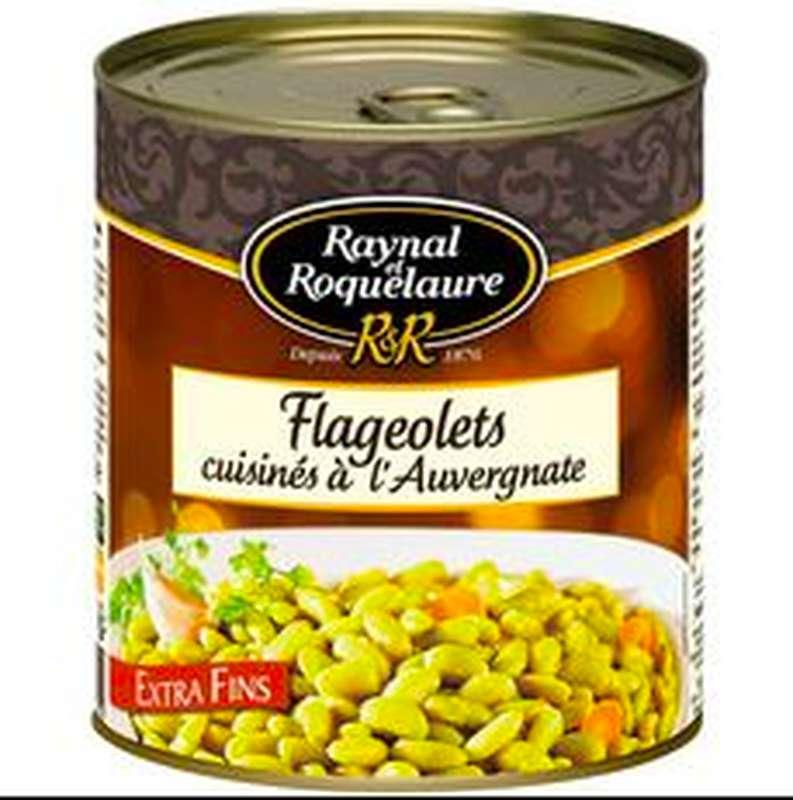 Flageolets cuisinés à l'Auvergnate, Raynal et Roquelaure (820 g)