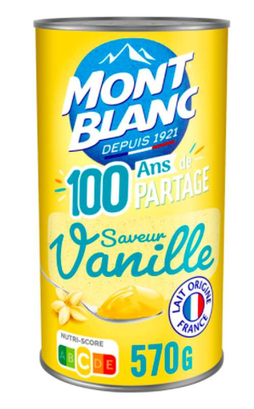 Crème Vanille, Mont Blanc (570 g)