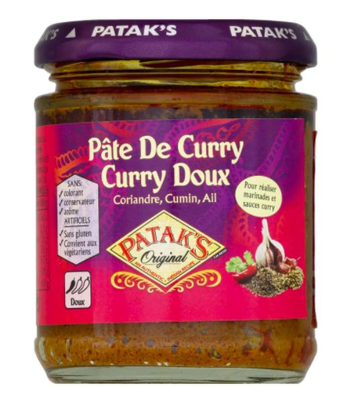 Pâte de curry doux, Pataks (165 g)