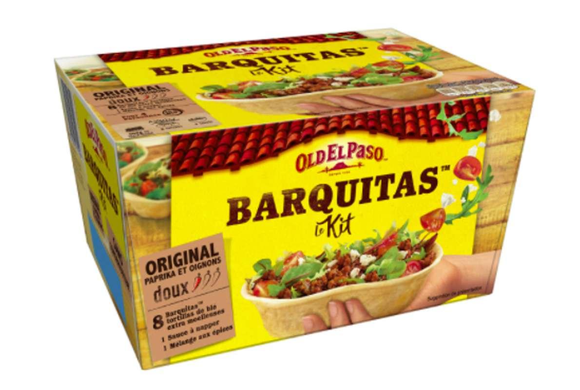 Kit Barquitas, Old El Paso (x 8, 345 g)