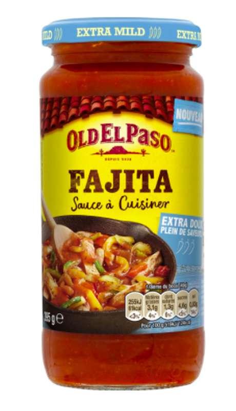 Sauce à cuisiner douce pour Fajitas, Old El Paso (395 g)