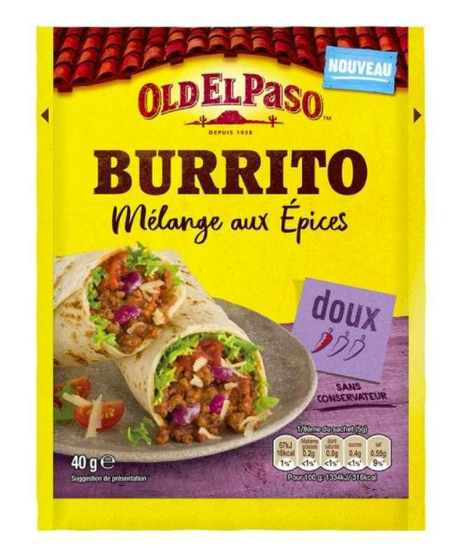 Mélange d'épices pour Burritos, Old El Paso (40 g)