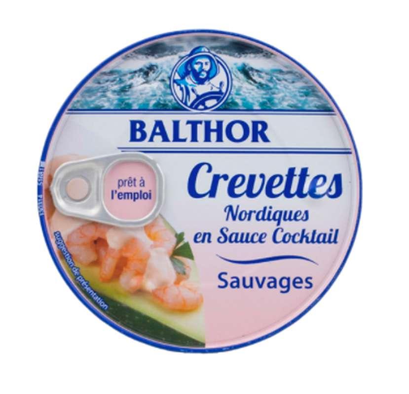 Crevettes Nordiques sauce Cocktail, Balthor (160 g)