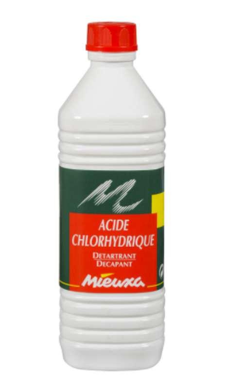 Acide Chlorydrique détartrant décapant, Mieuxa (1 L)