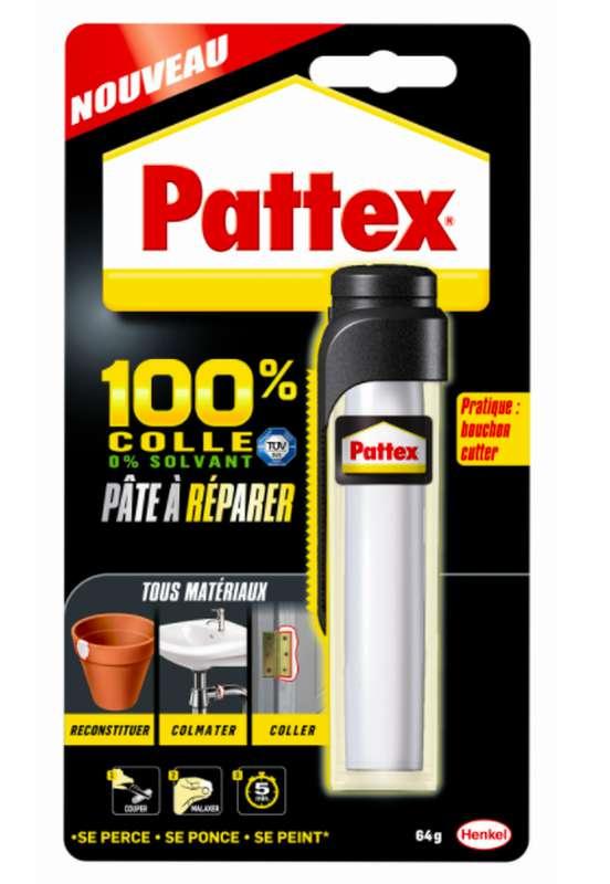 Colle pâte à réparer, Pattex (64 g)