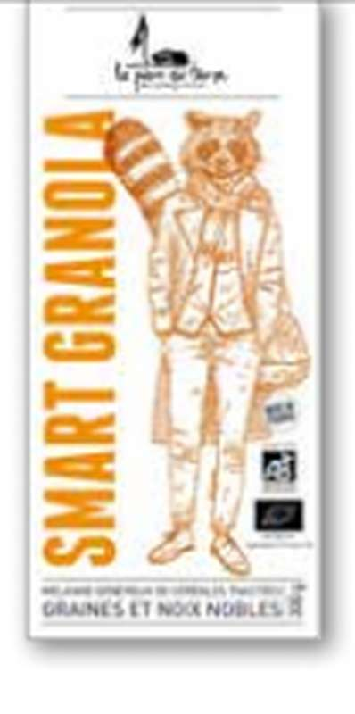 """Smart Granola """"classic"""" BIO, La pierre qui tourne (300 g)"""