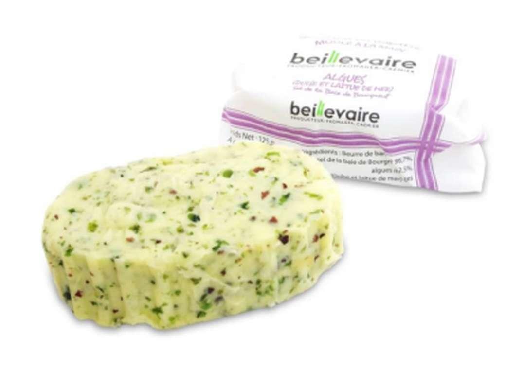 Beurre artisanal aux algues, Beillevaire (125 g)
