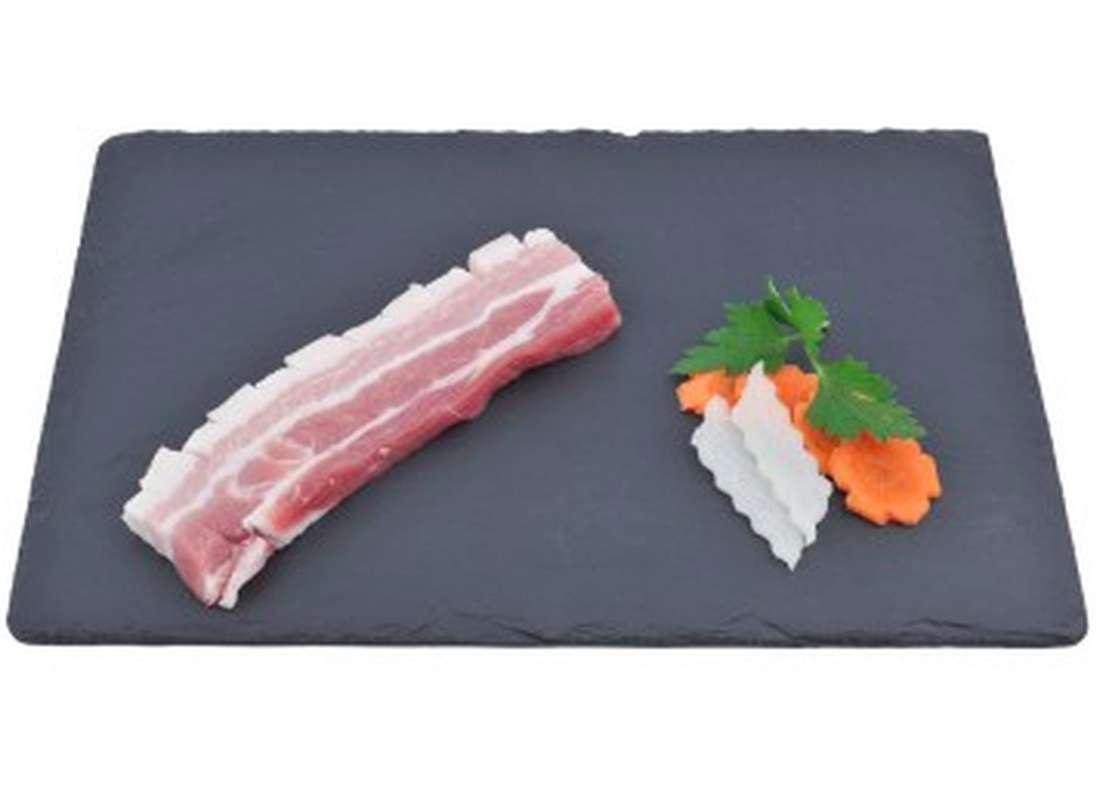 Poitrine de Porc à Griller Tranchée, Maison Conquet (4 tranches, environ 450 - 550 g)