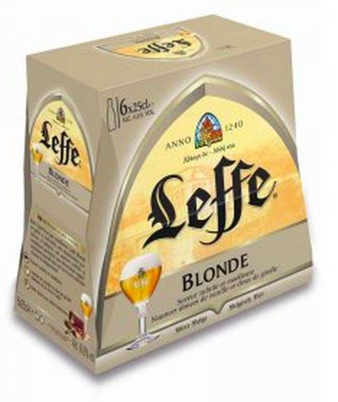 Pack de Leffe blonde (6 x 25 cl)
