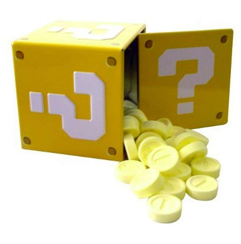 Bonbons acidulés pièces de monnaie, Nintendo Super Mario Bross (34 g)