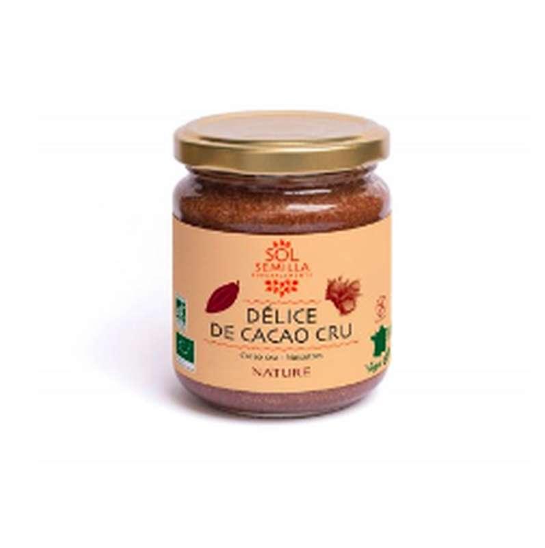 Délice de cacao cru nature BIO, Sol Semilla (190 g)