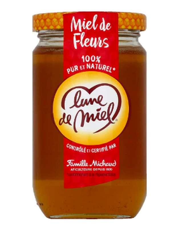 Miel liquide de fleur en pot, Lune de Miel (375 g)