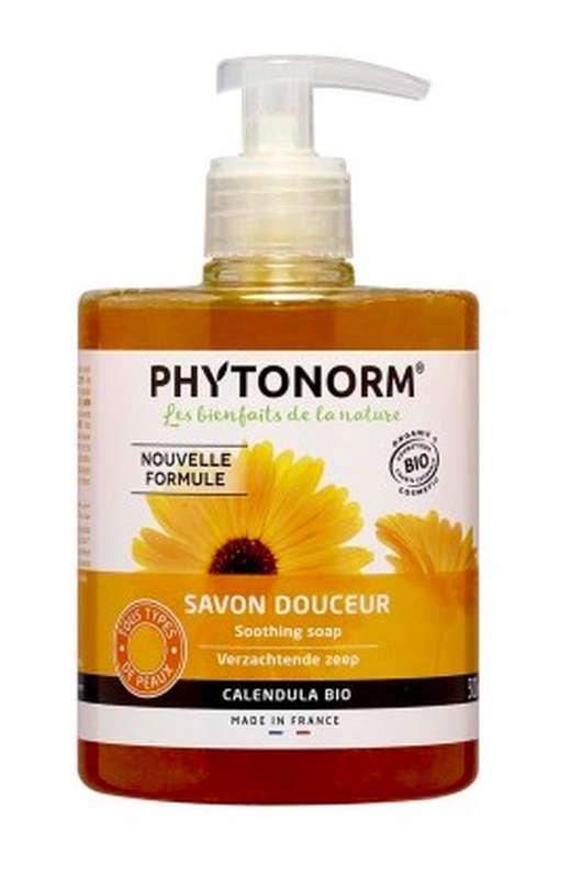 Savon douceur au calendula souci BIO, Phytonorm (500 ml)